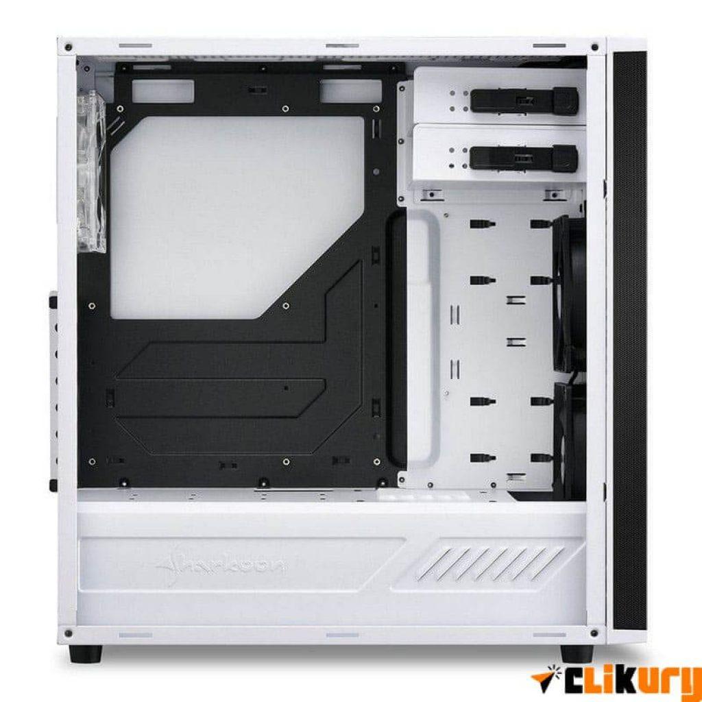 caja pc sharkoon m25-w interior