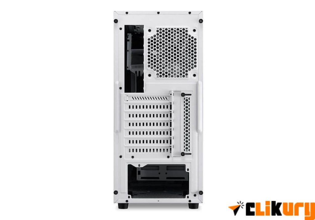 torre gaming sharkoon m25-w parte trasera