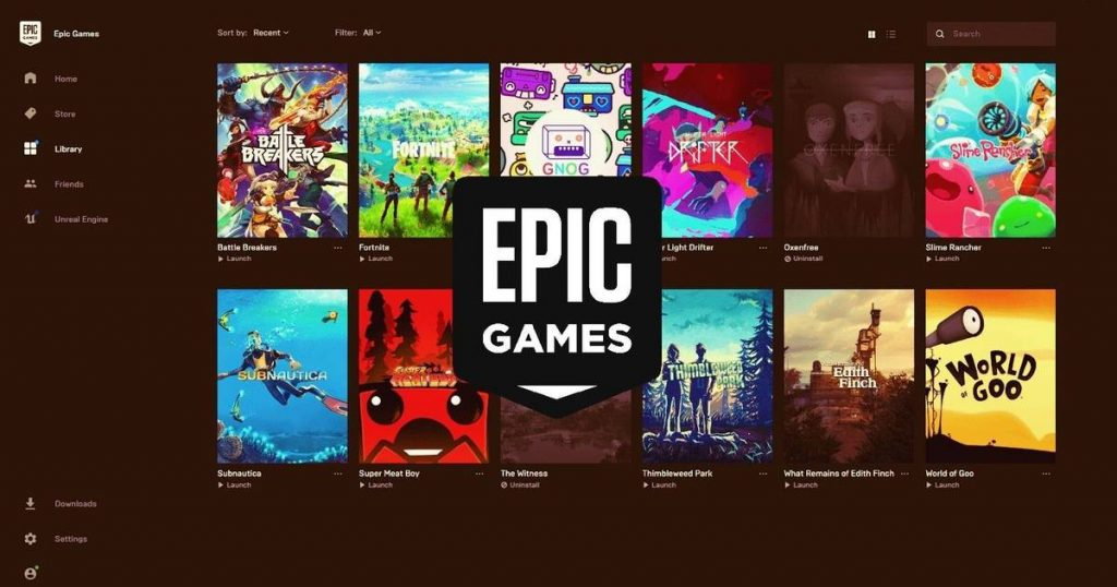 Epic Games regalar videojuegos