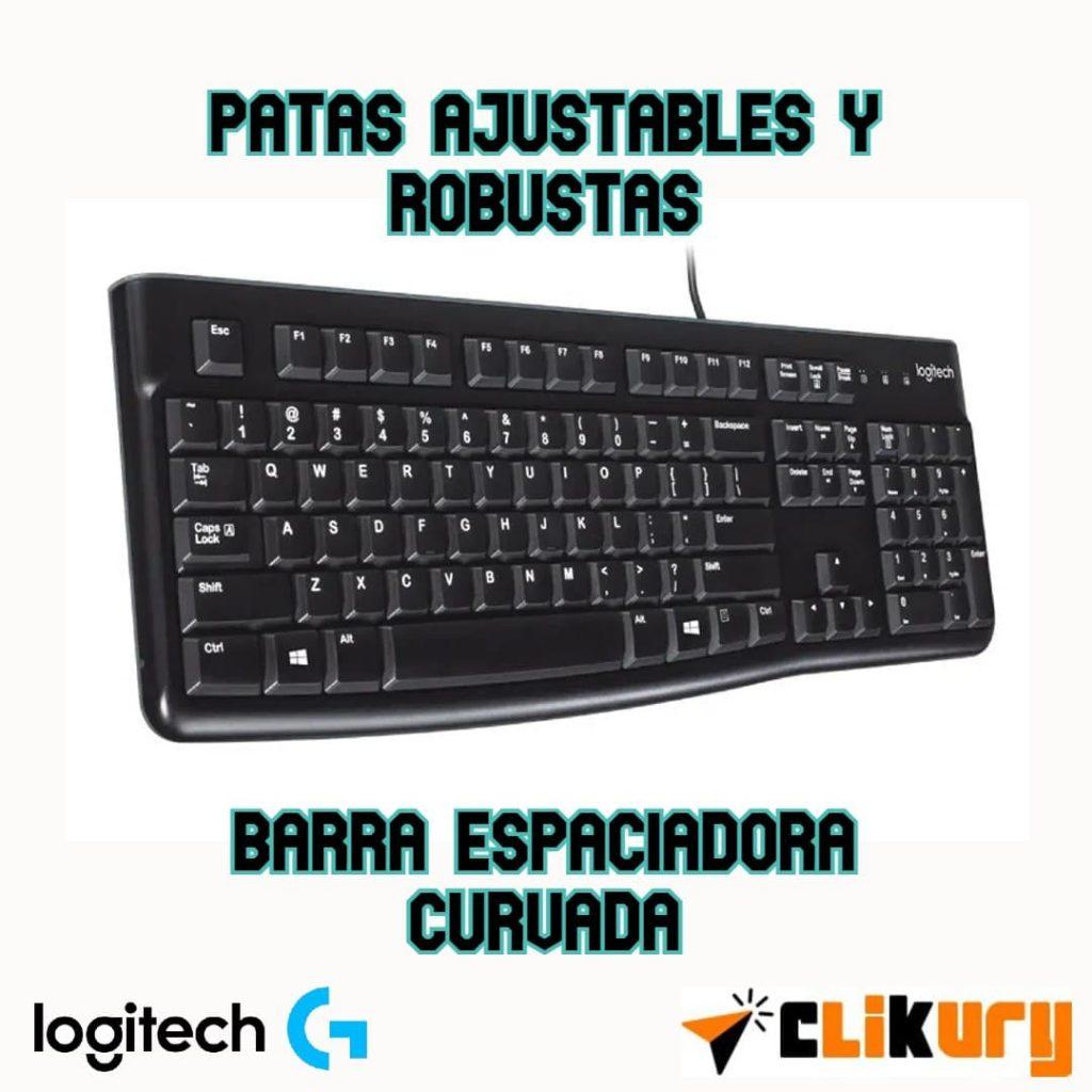 Logitech K120 review español