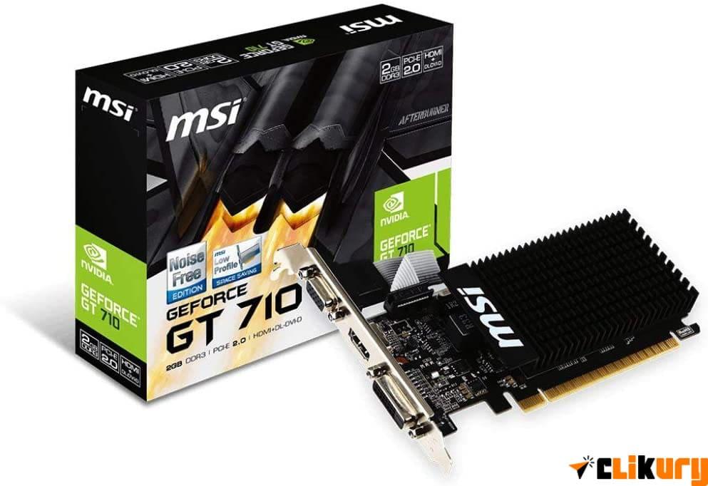 NVIDIA GeForce GT 710 MSI analisis español