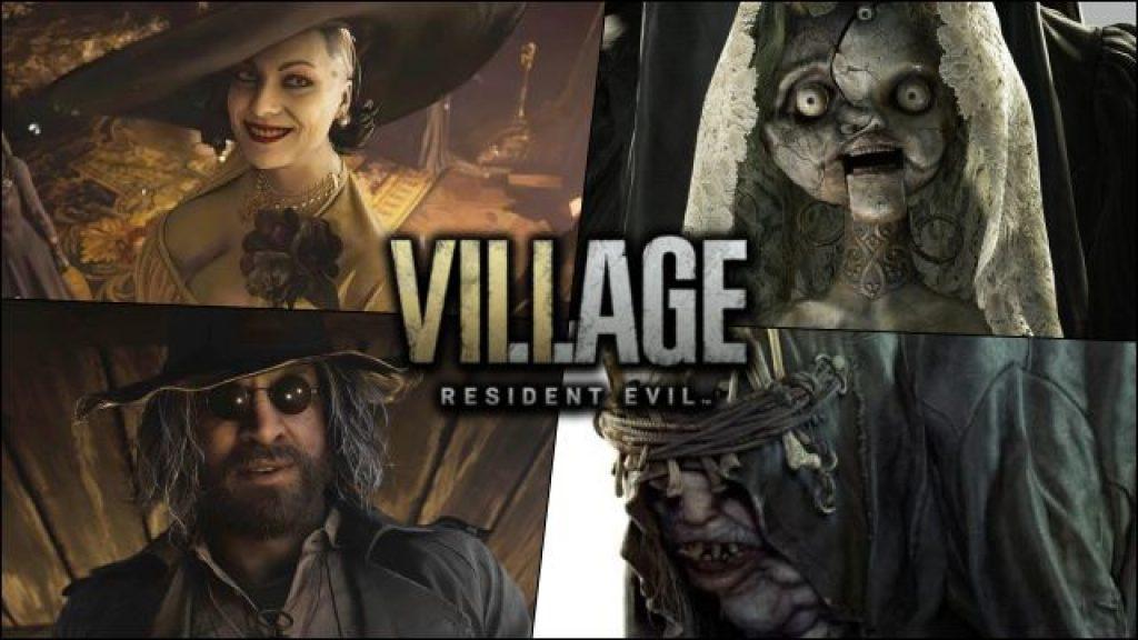 Resident Evil Village jerarcas