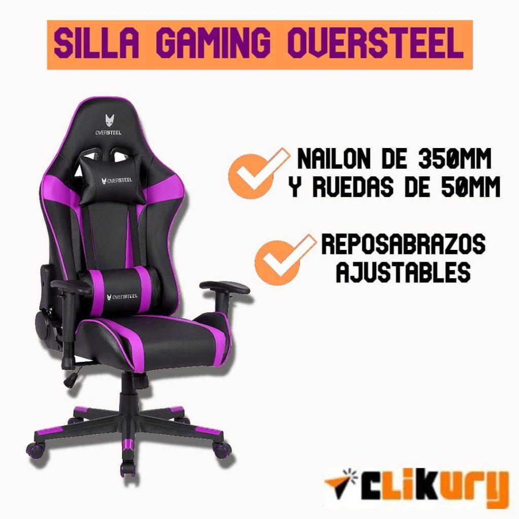 Silla Gaming Oversteel Ultimet analisis español