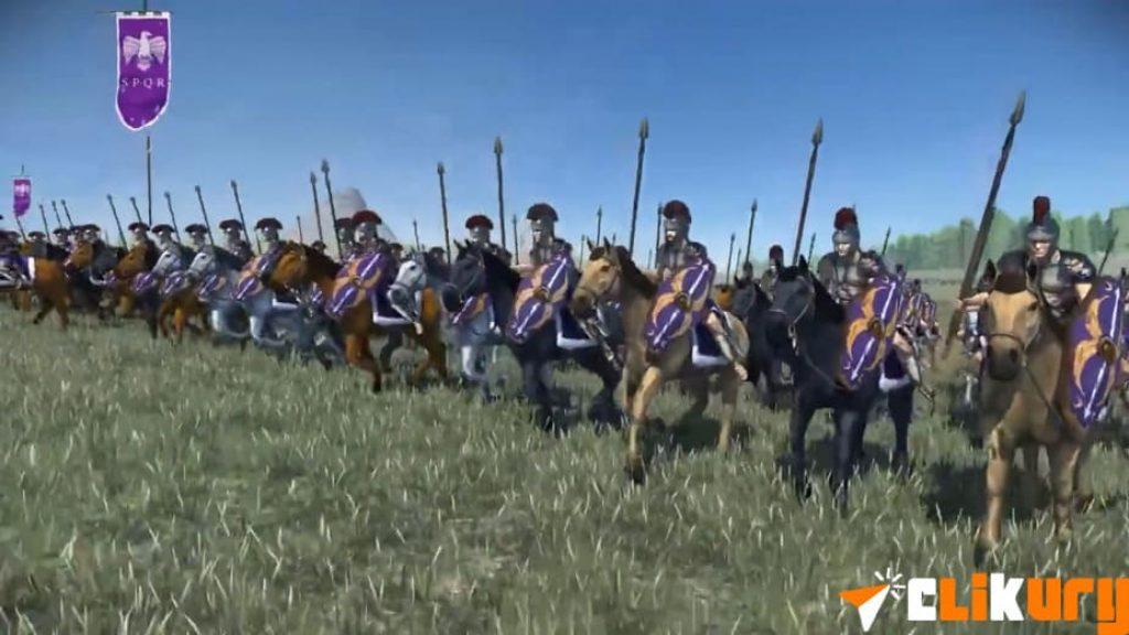 Total War Rome Remastered caballeria