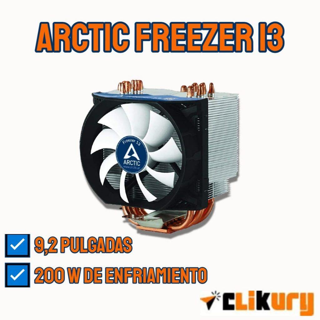 arctic freezer 13 review español
