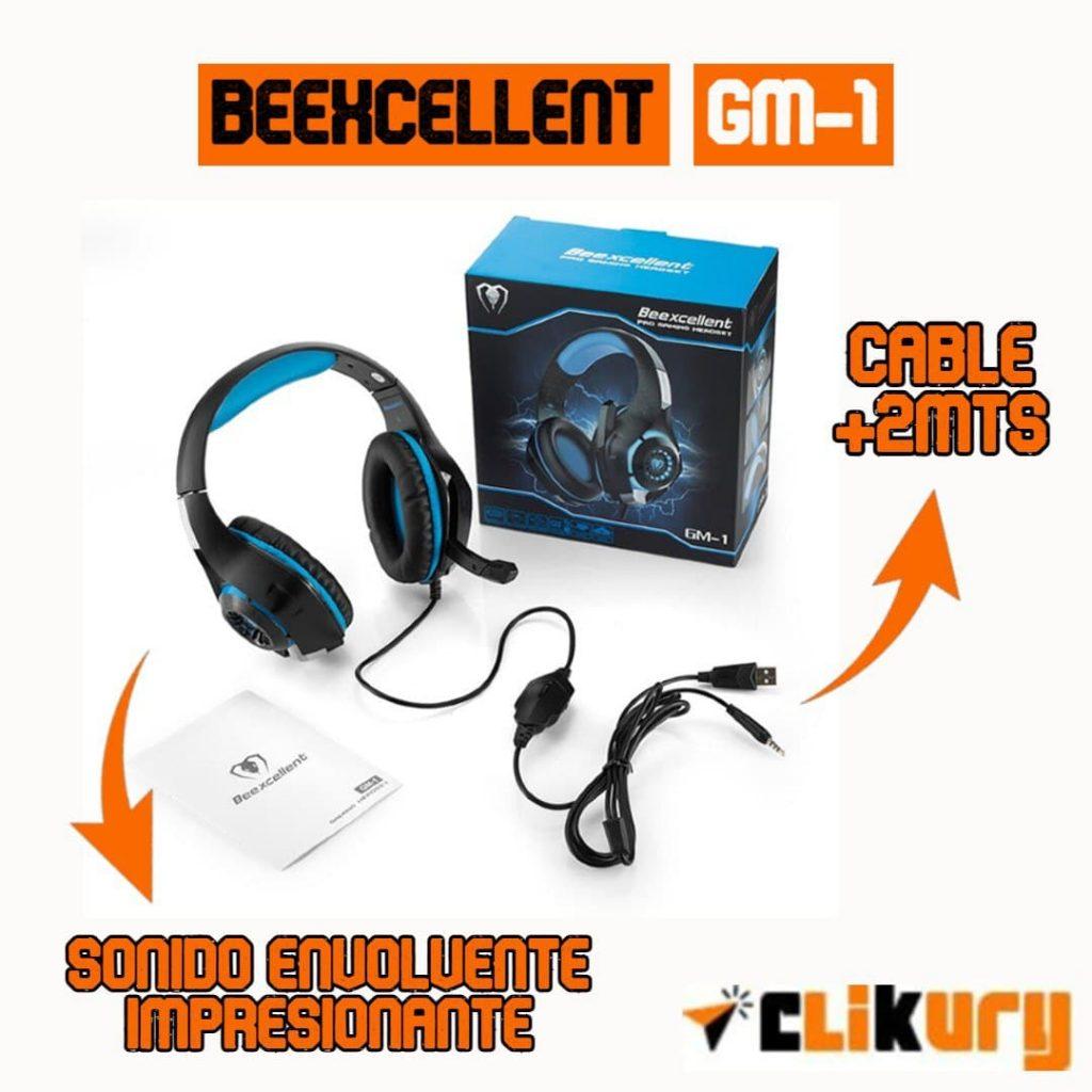 audifonos beexcellent gm-1