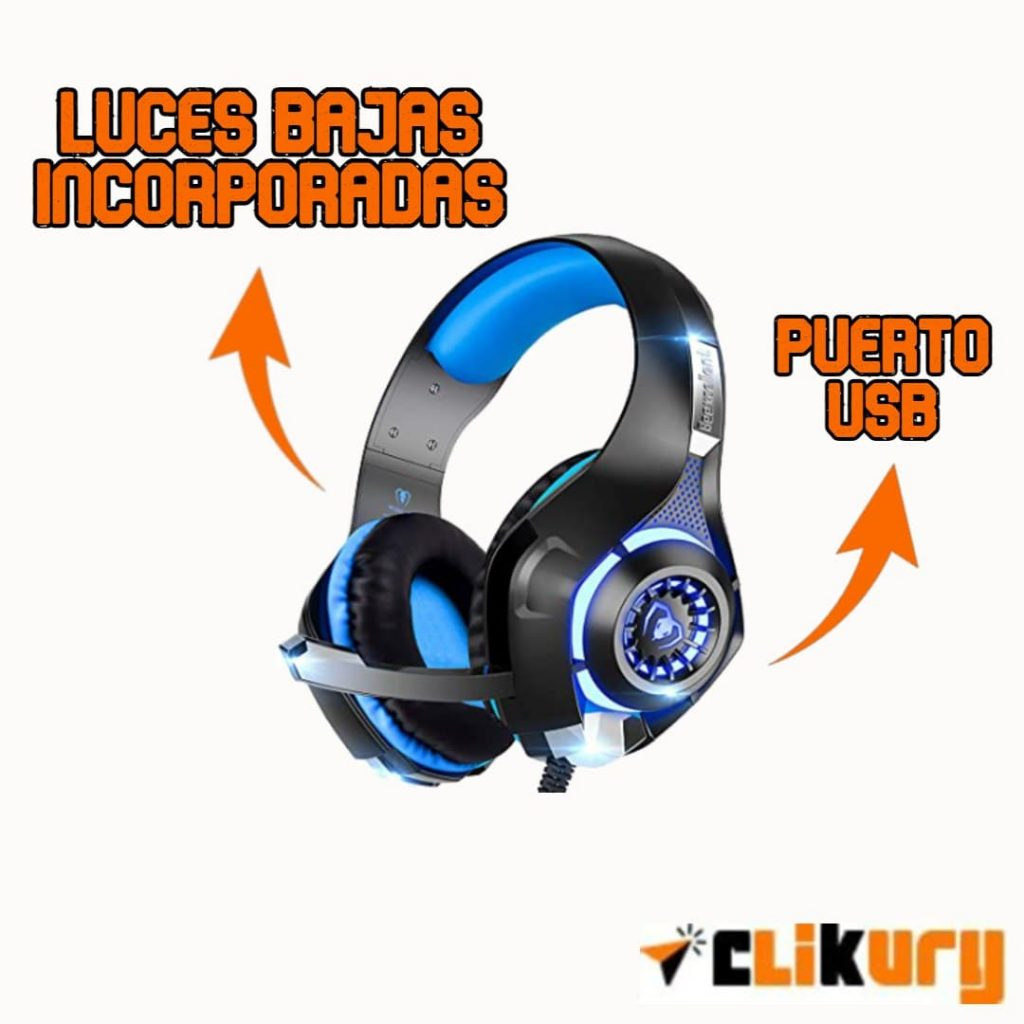 auriculares beexcellent gm-1 gaming