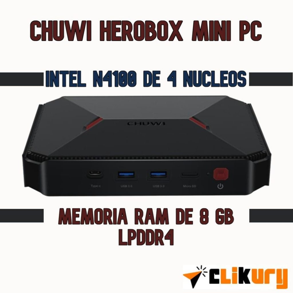 chuwi herobox mini pc analisis español