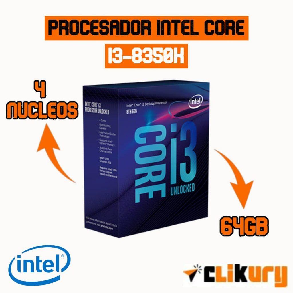 intel core i3-8350k review español