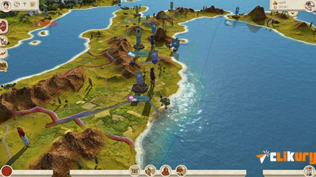 mapa Total War Rome Remastered