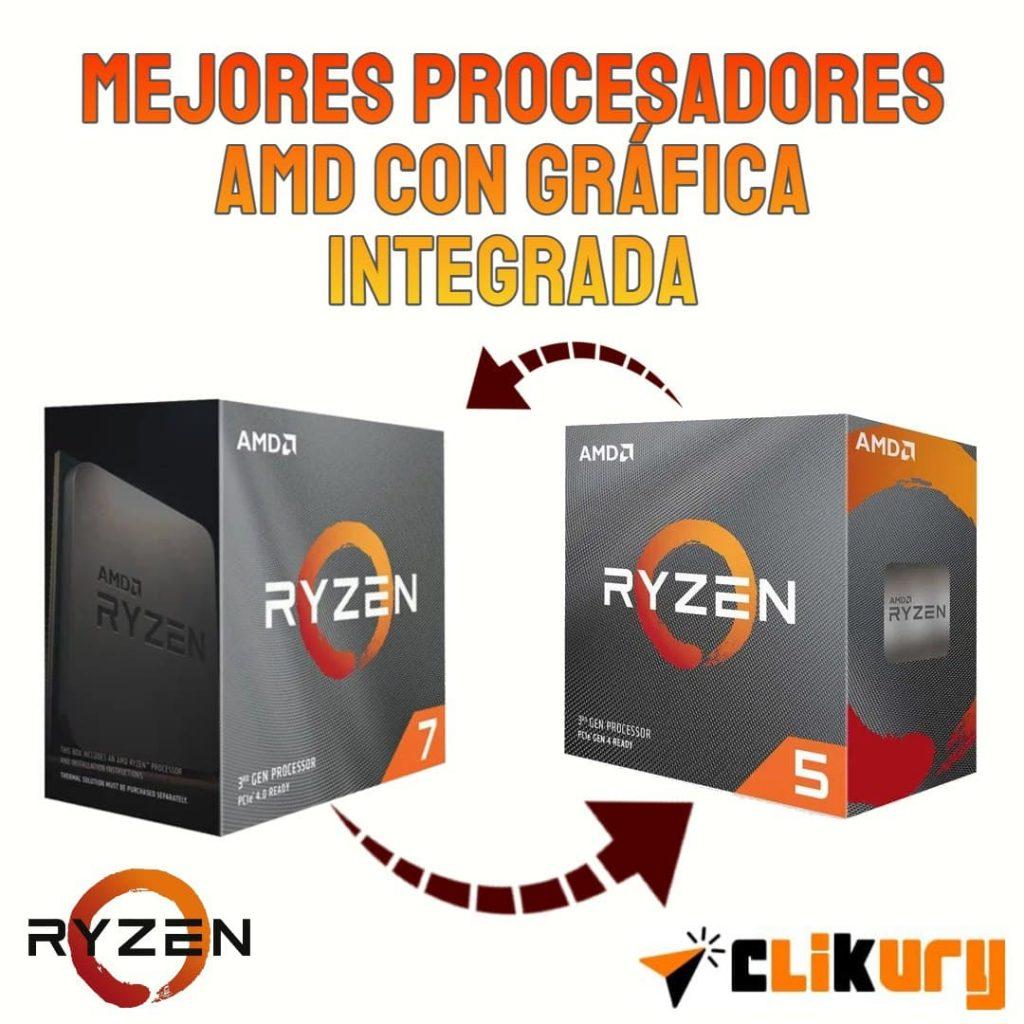 mejores procesadores AMD con gráfica integrada