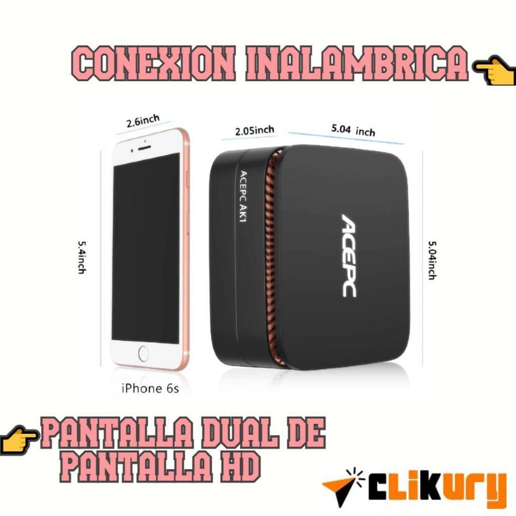 mini ordenador acepc ak1 review español