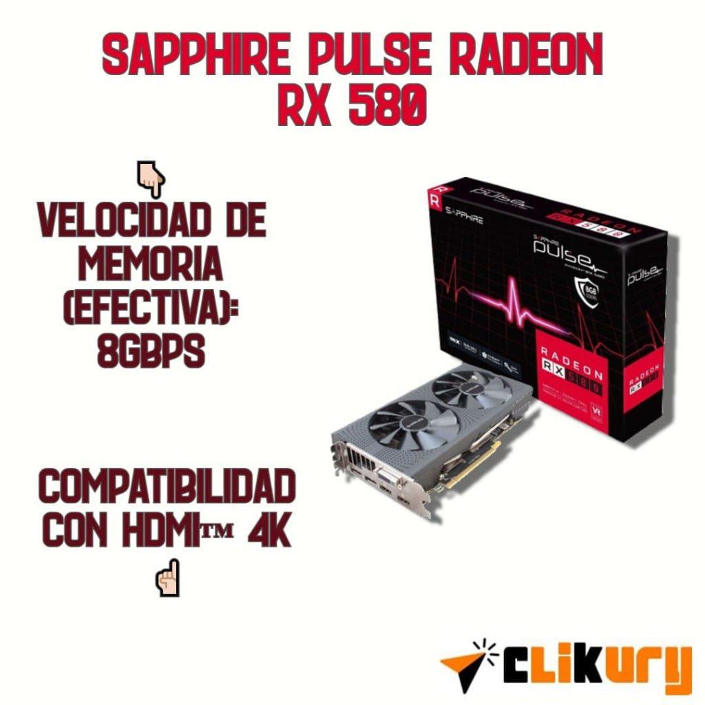 sapphire pulse radeon rx 580 review español
