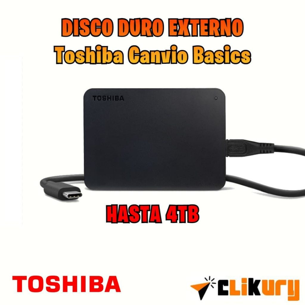 Toshiba Canvio Basics análisis español