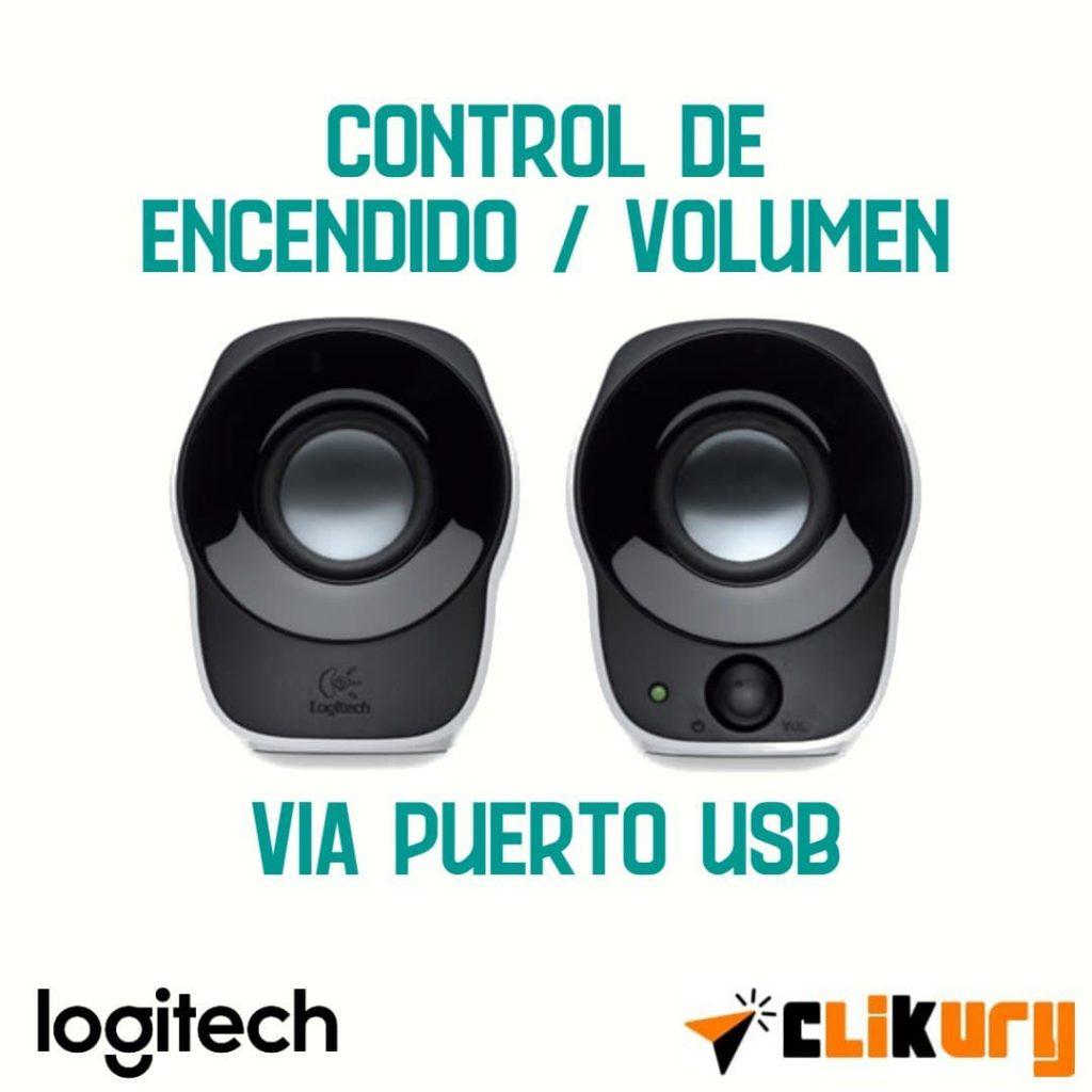 altavoces de ordenador Logitech Z120