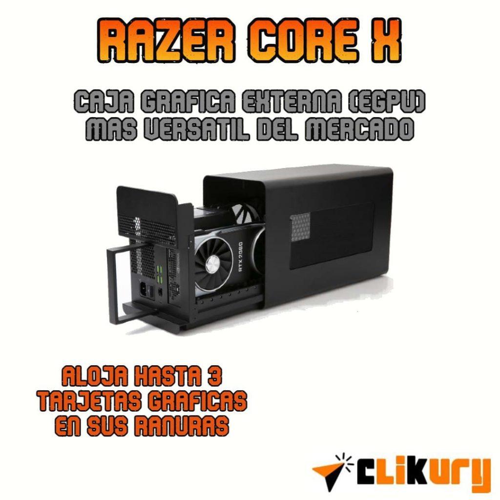 caja grafica externa Razer Core X