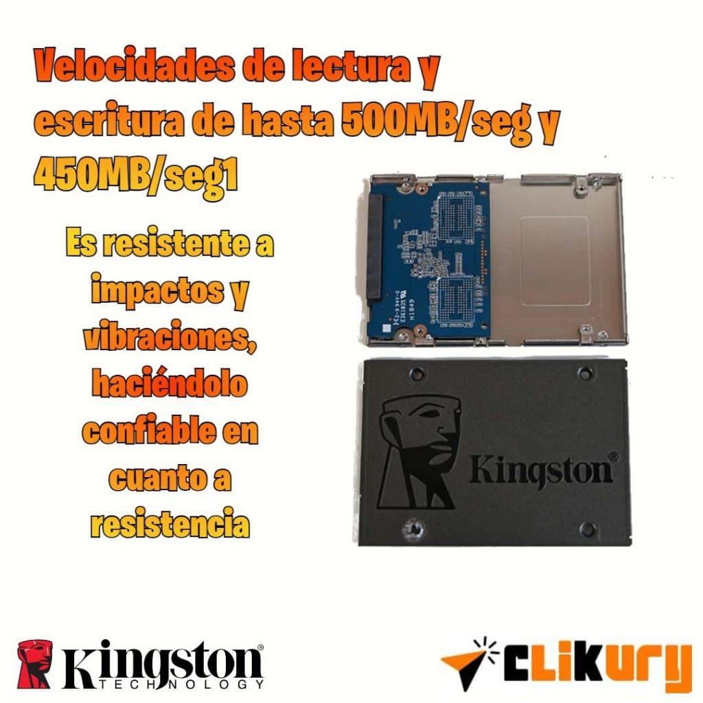 disco para PC Kingston A400 SSD