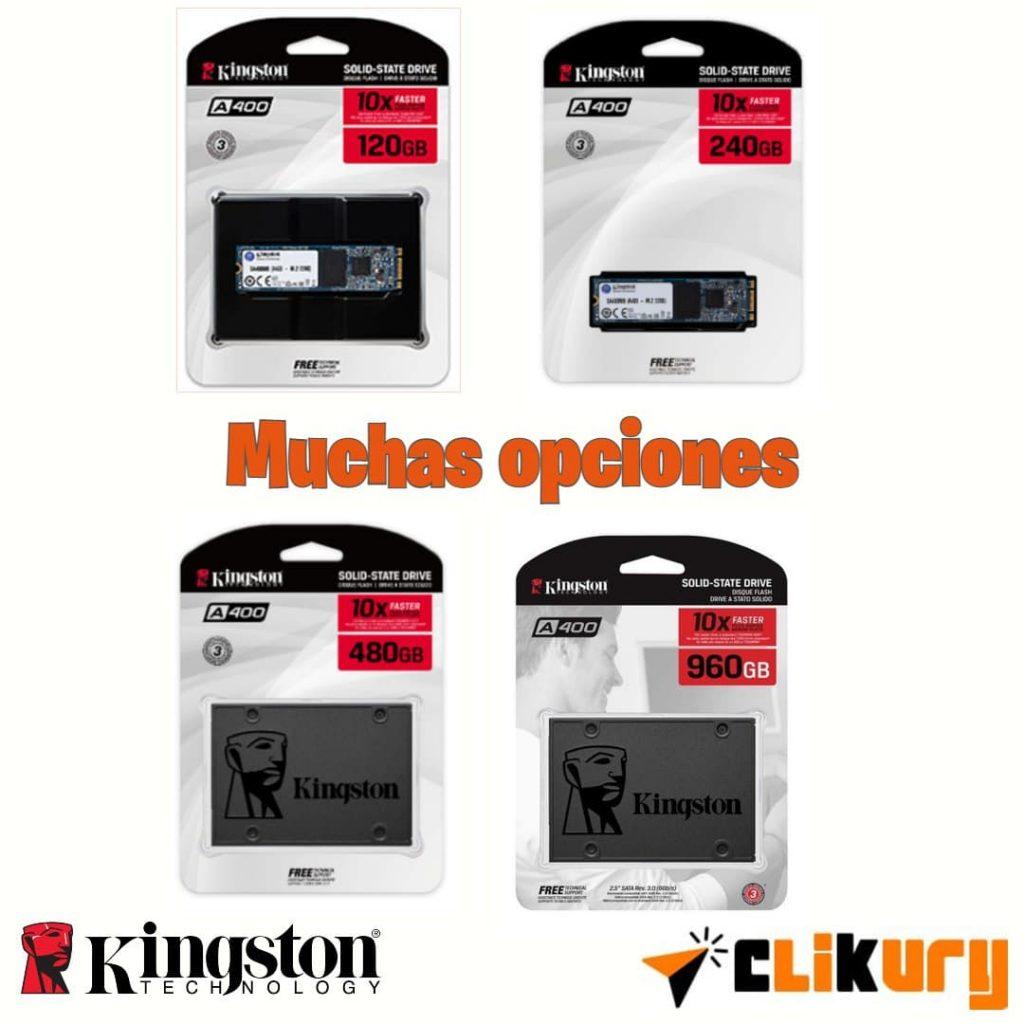 discos Kingston A400 SSD
