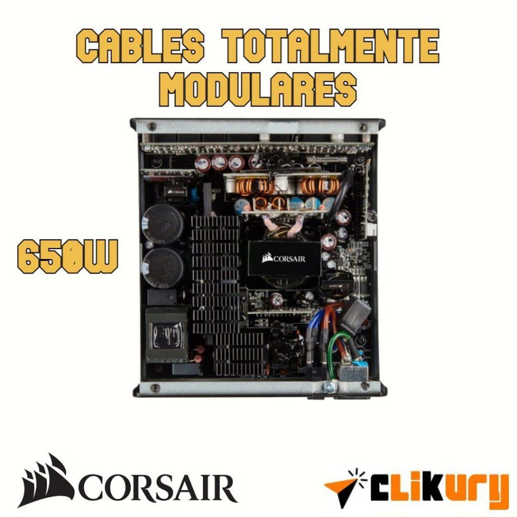 fuente de PC Corsair RM650