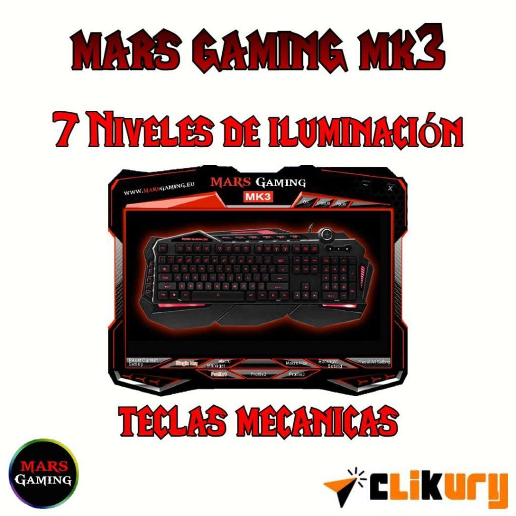 keyboard español mars gaming mk3