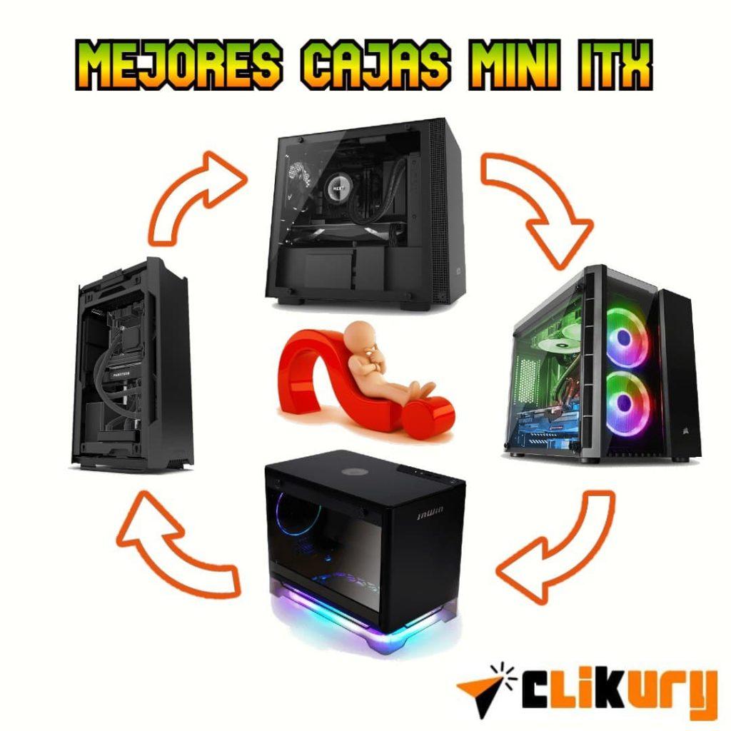 mejores cajas mini ITX gaming