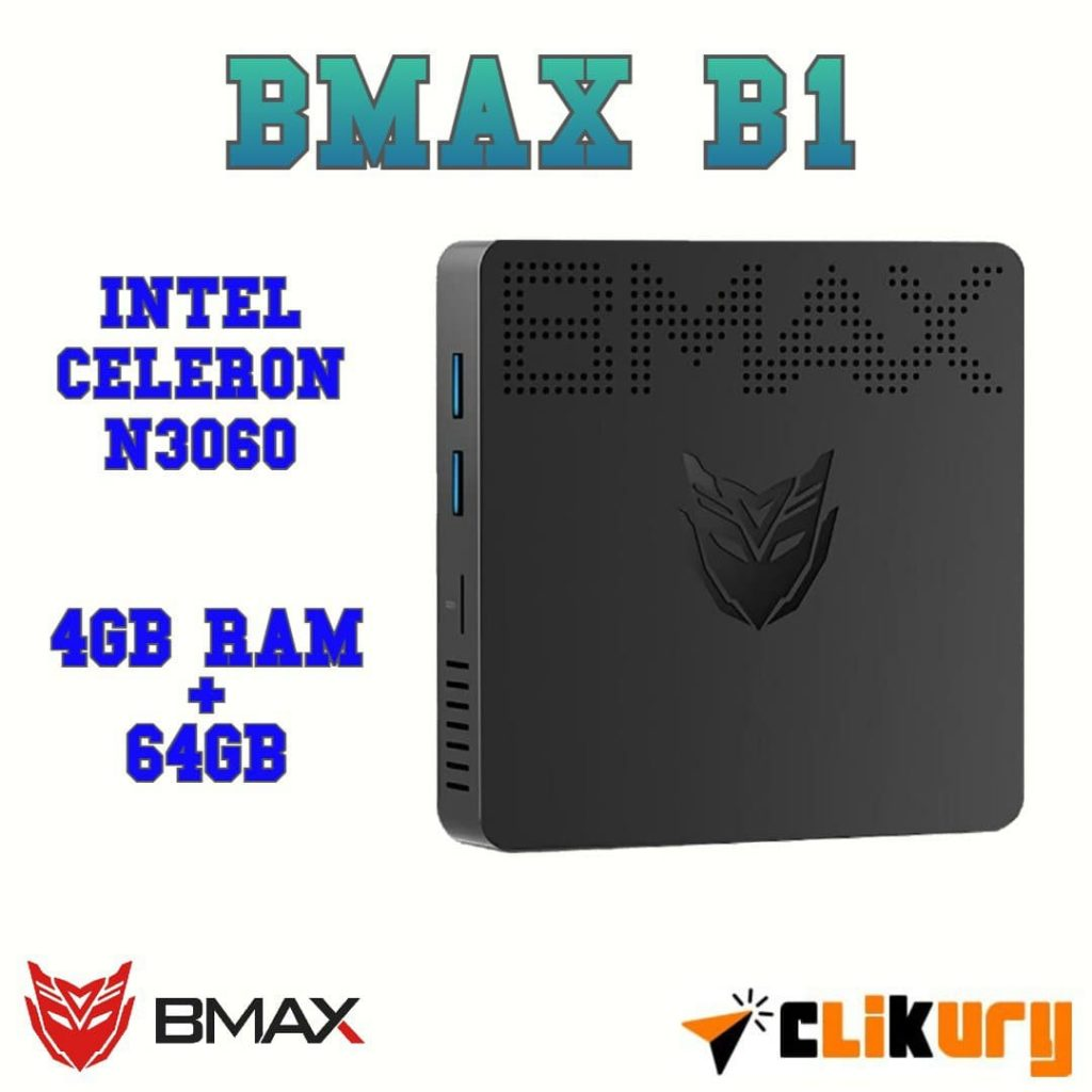 mini pc b max b1 4gb ddr3