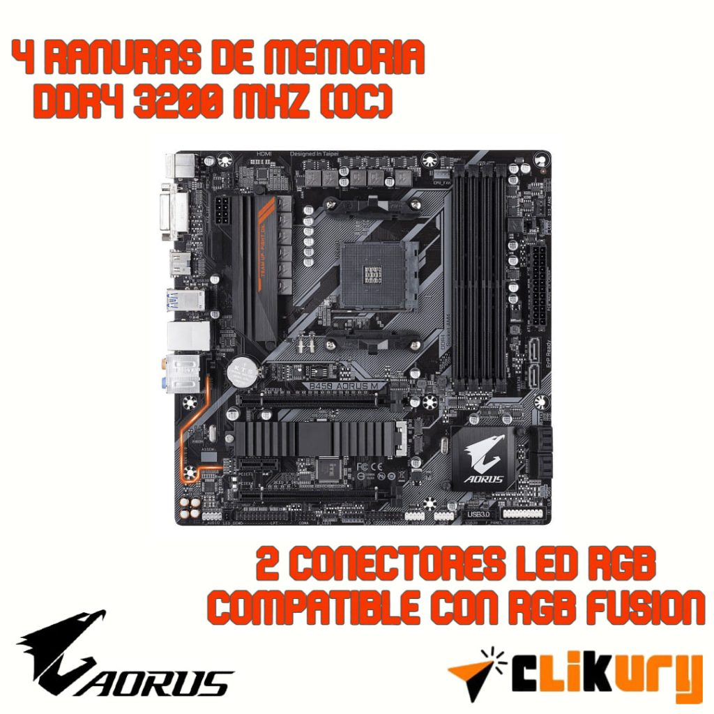 motherboard gigabyte aorus b450 m analisis