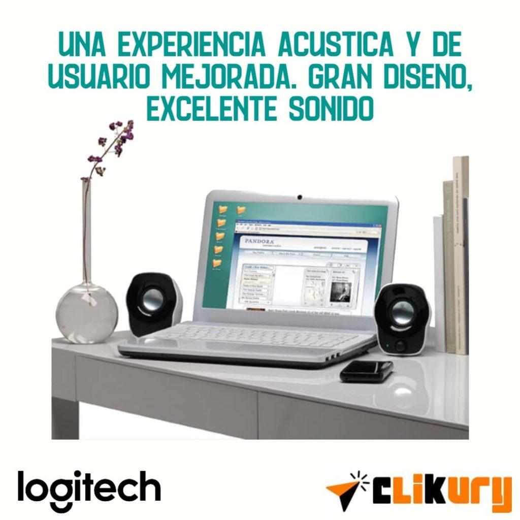 sistema de audio Logitech Z120