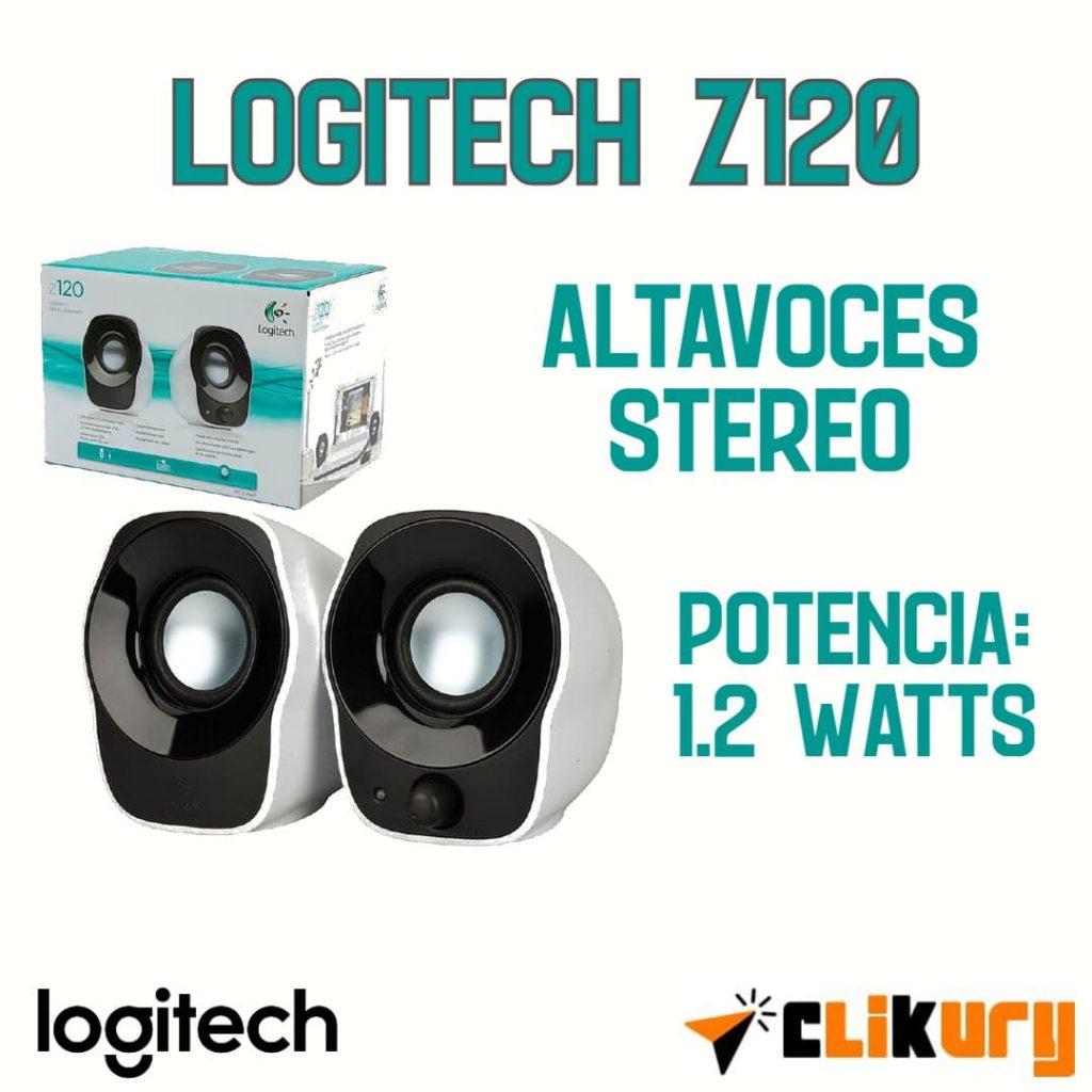 sistema de sonido para PC Logitech Z120