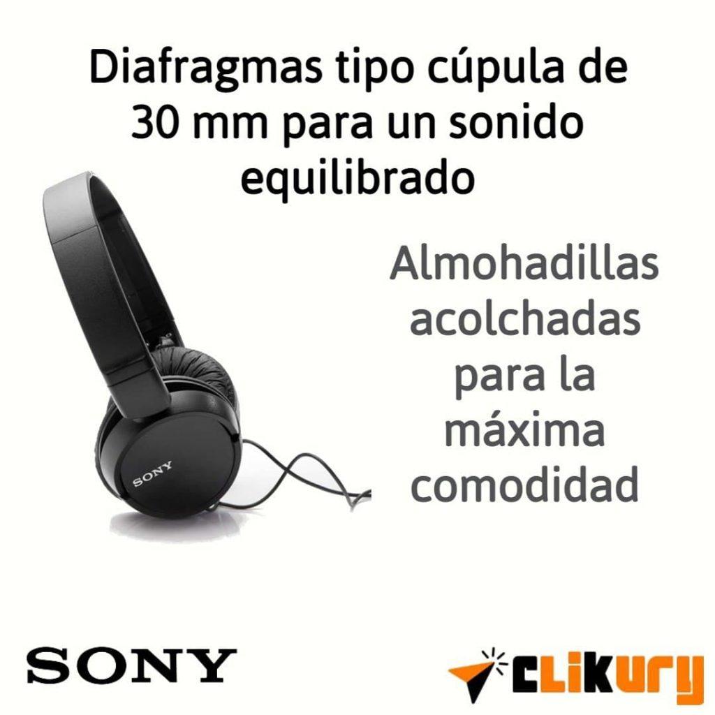 auriculares Sony MDR-ZX110 análisis español