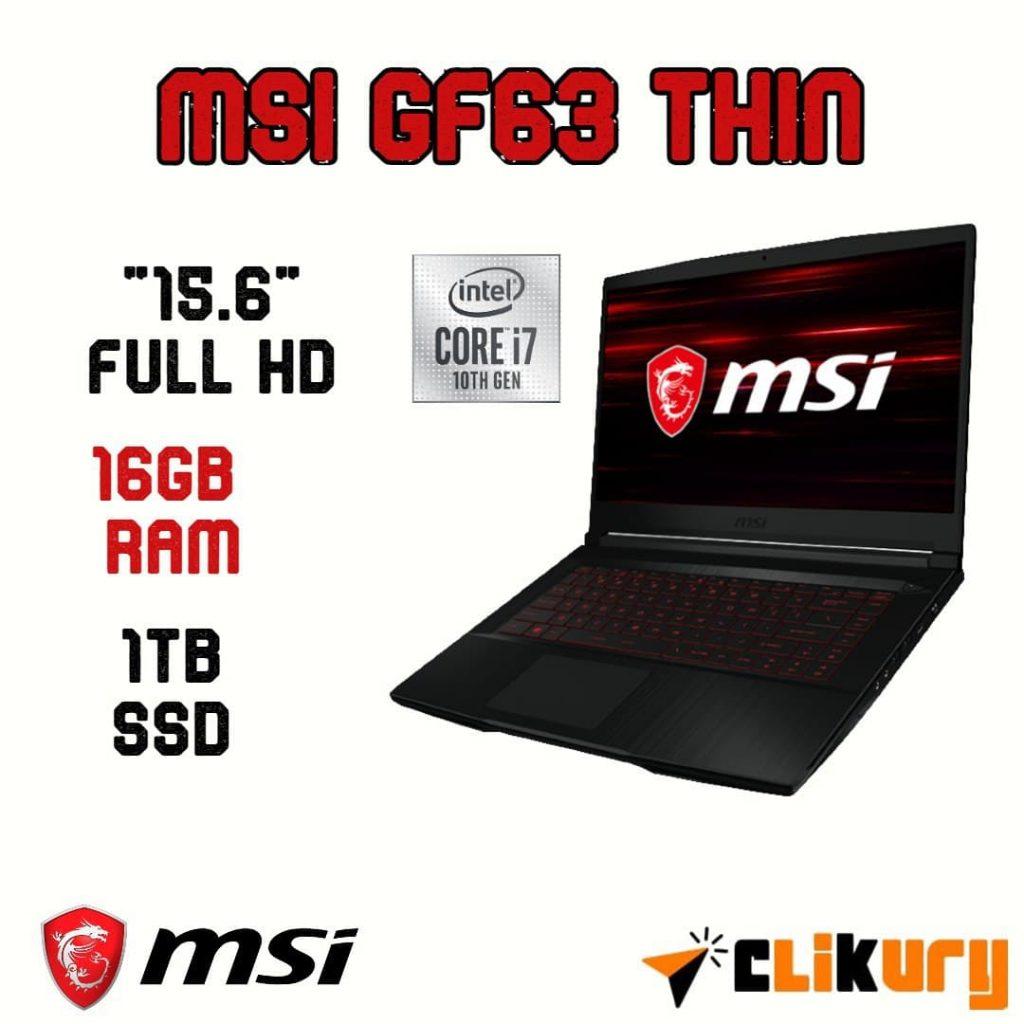 MSI GF63 Thin 10SCSR-876XES análisis español