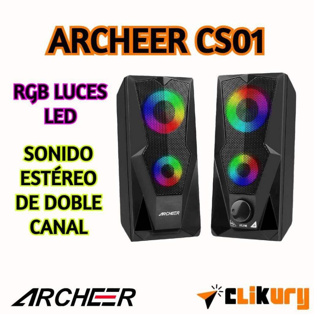 altavoces Archeer CS01 análisis español