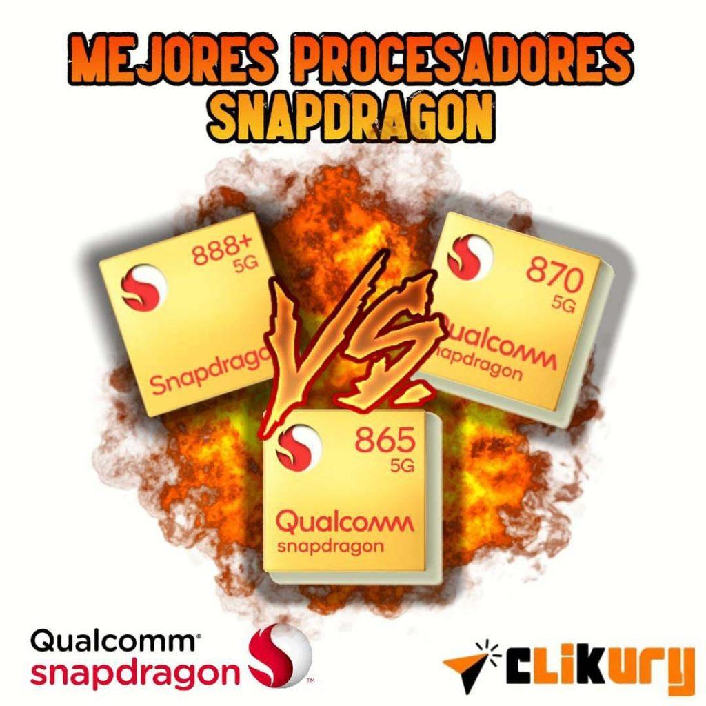 comparativa procesadores snapdragon