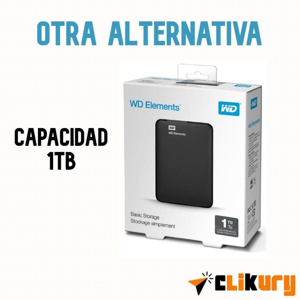 disco duro externo WD Elements review español