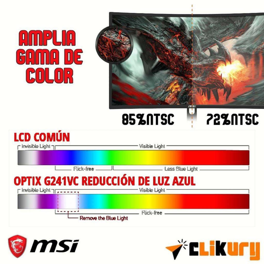 especificaciones MSI Optix G241VC