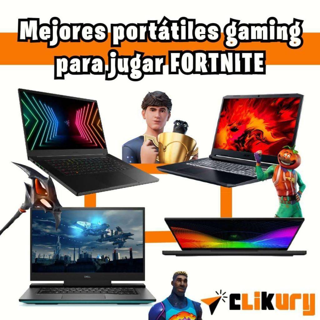 mejores laptops para fortnite comparativa
