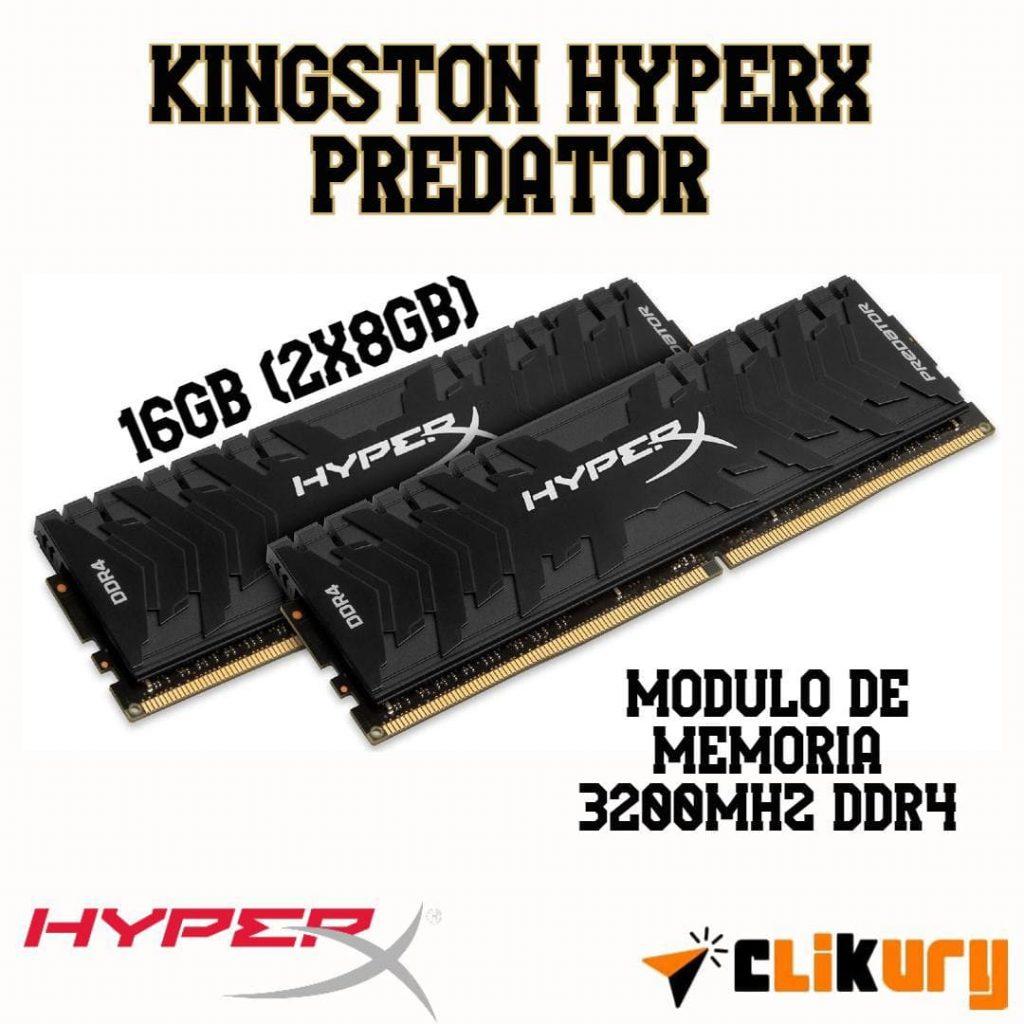 memoria ram Kingston HyperX Predator