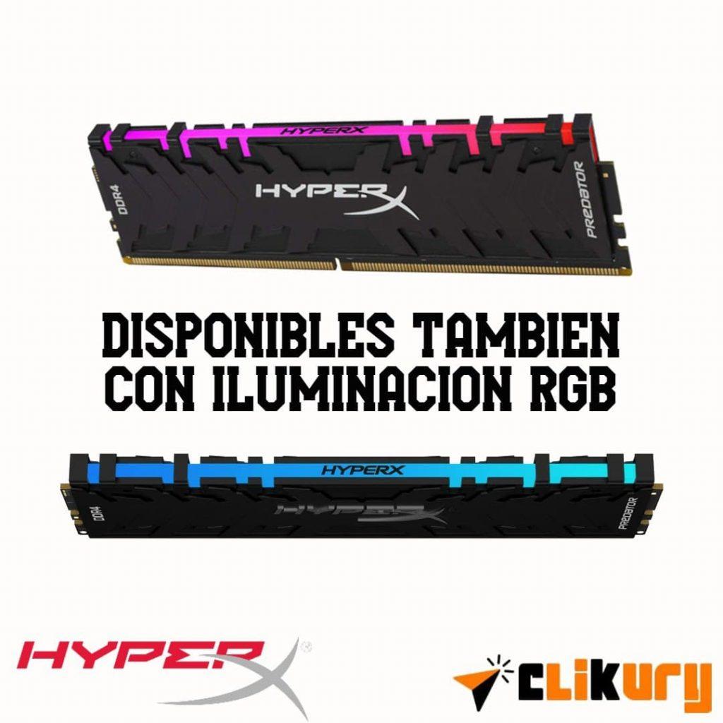 memorias ram Kingston HyperX Predator analisis español