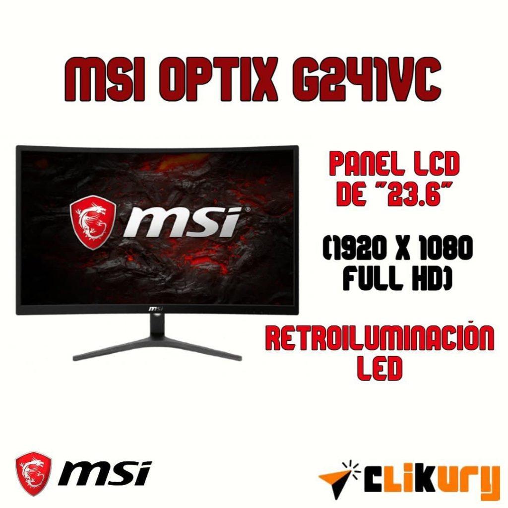 monitor gaming MSI Optix G241VC