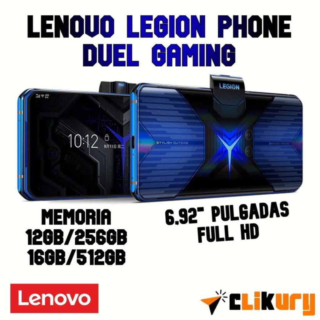móvil gaming Lenovo Legion Phone Duel análisis