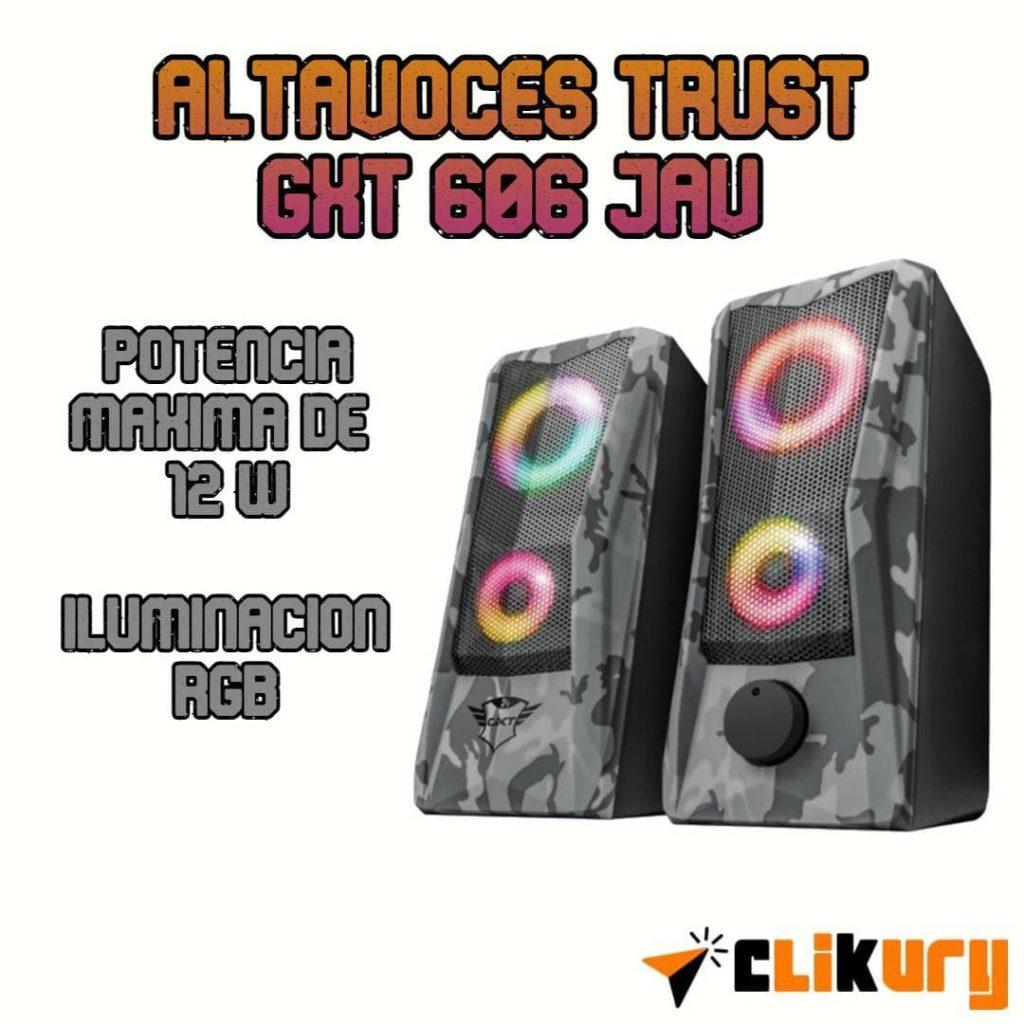 Altavoces Trust GXT 606 Jav opiniones