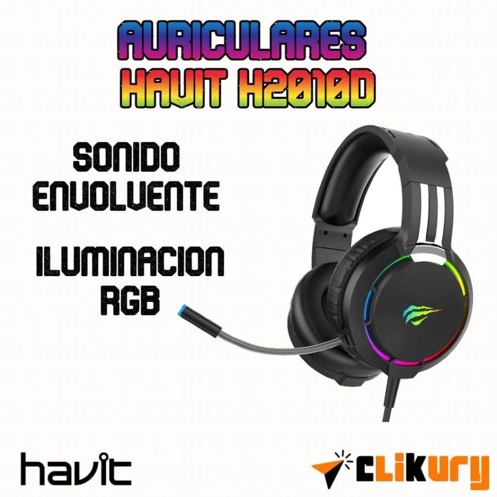auriculares Havit H2010D análisis español