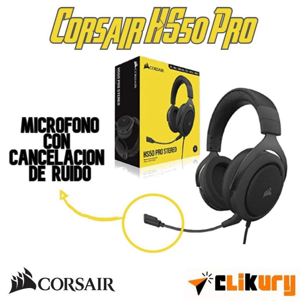 auriculares corsair hs50 Pro PC análisis