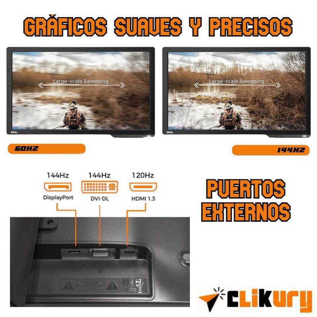 benq zowie xl2411p e-sports monitor características