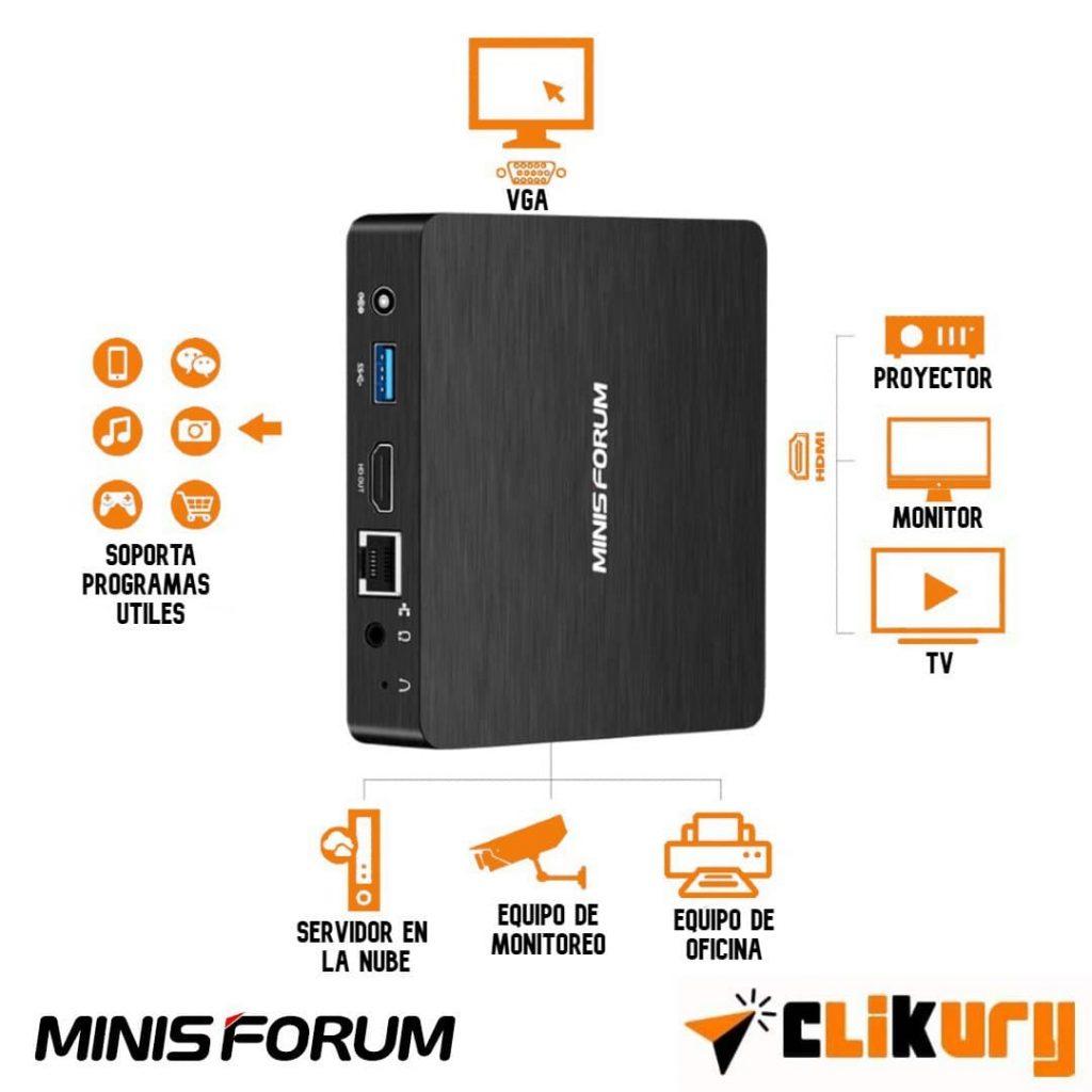 micro PC Minis Forum Z83-F opiniones