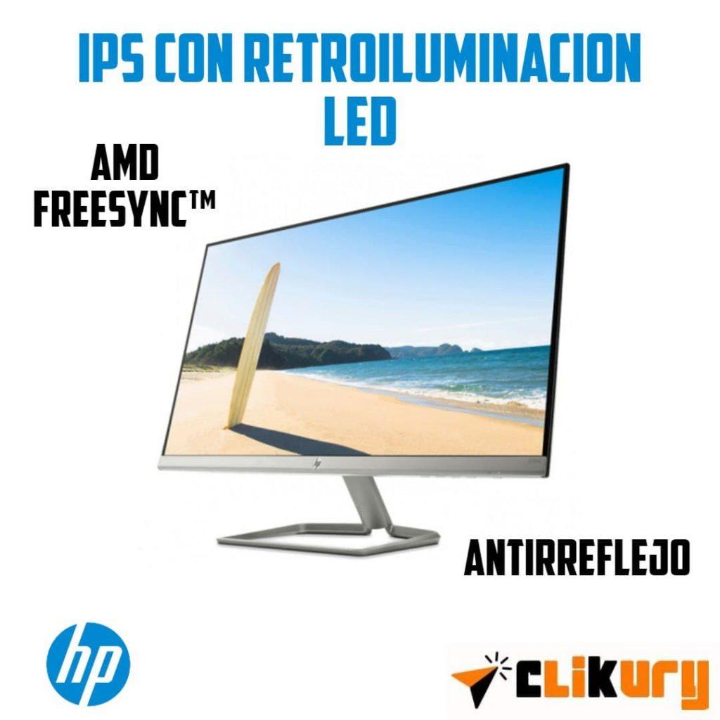 monitor HP 27FW analisis español