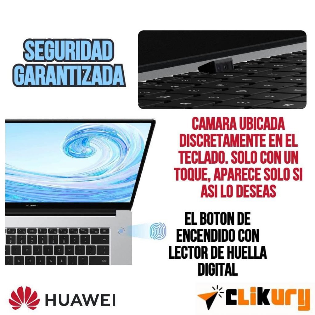 notebook Huawei MateBook D15 especificaciones