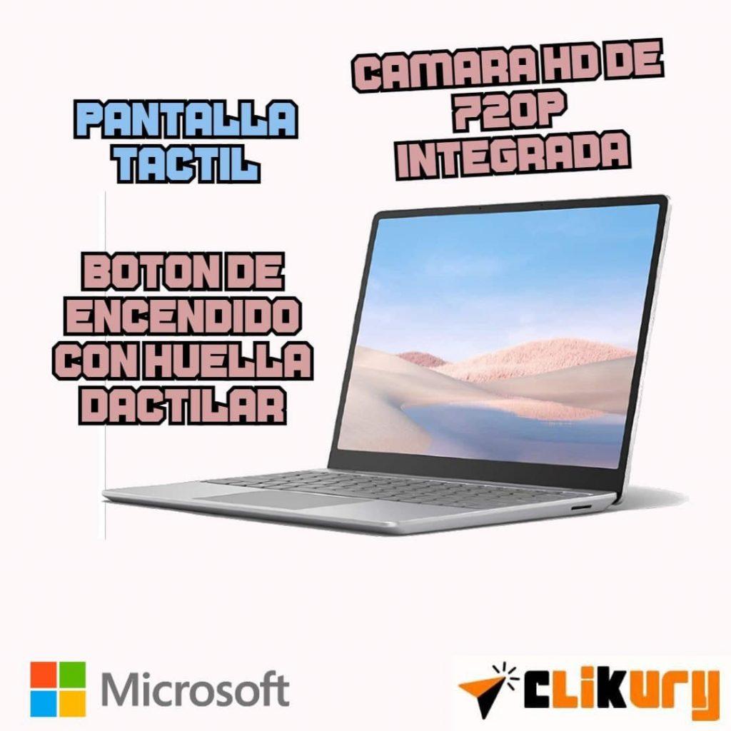opiniones Microsoft Surface Laptop Go para oficina
