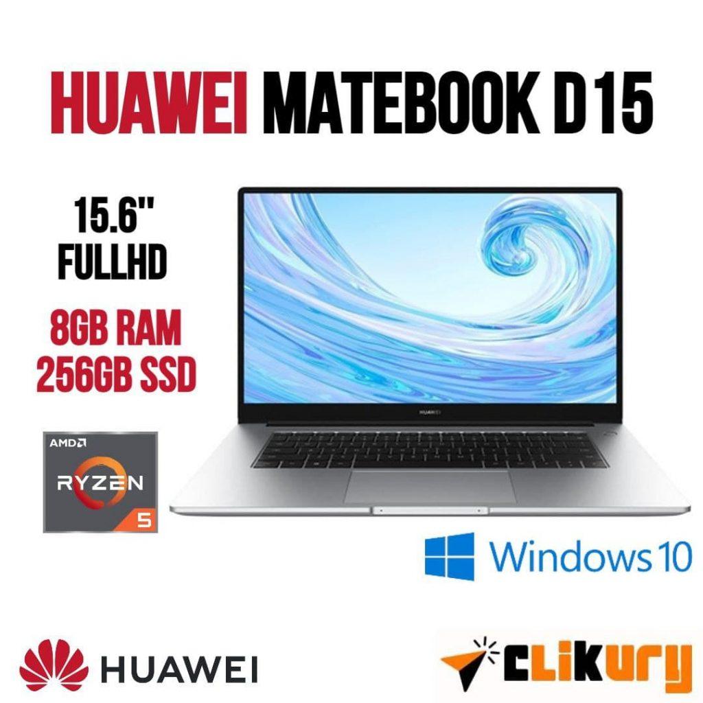 ordenador portátil Huawei MateBook D15 análisis español