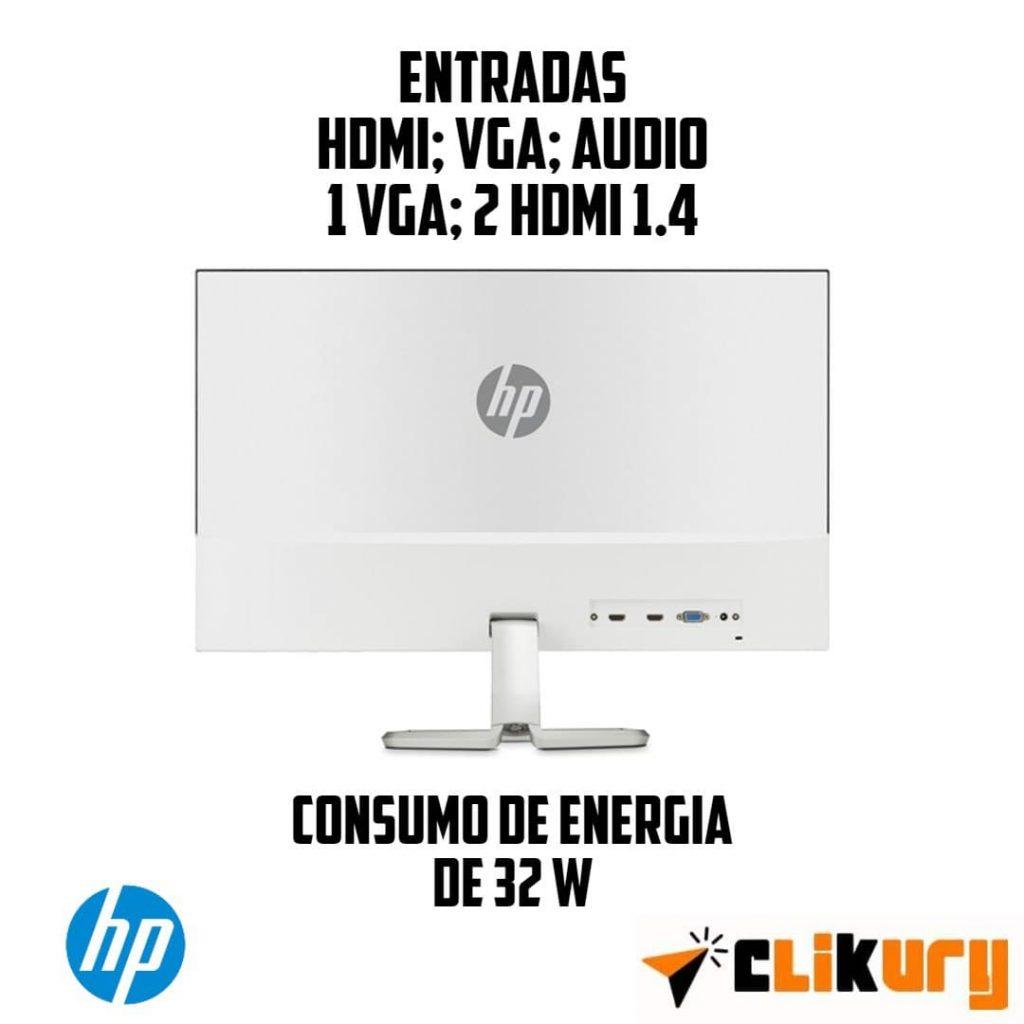 monitor HP 27FW especificaciones